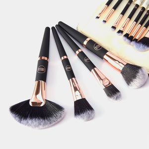 Lurella Cosmetics - Rosè All Day – 12 Piece Rose Gold And Black