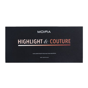 MOIRA - Highlight & Couture Palette