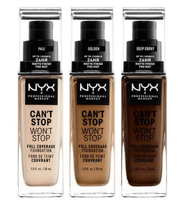 NYX-Can't Stop Wont Stop Full Coverage Foundation