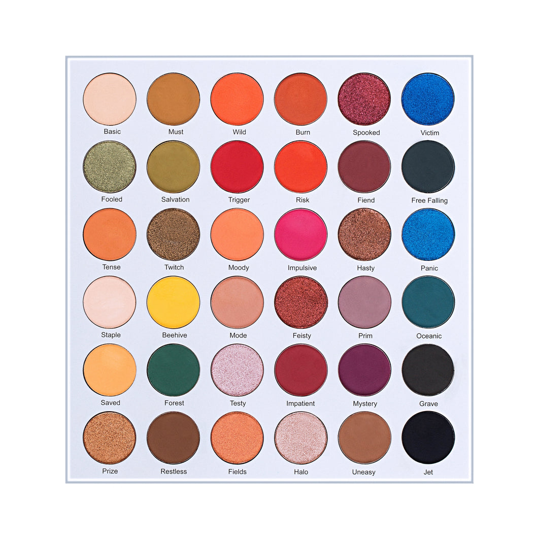 LURELLA - On The Edge Palette – 36 Colors