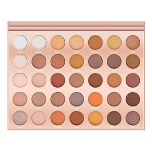 LURELLA - Stay Neutral Eye Shadow Palette – 35 Colors