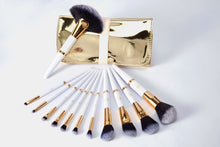 Lurella Cosmetics - Gold Rush – 12 Piece Gold And White Set