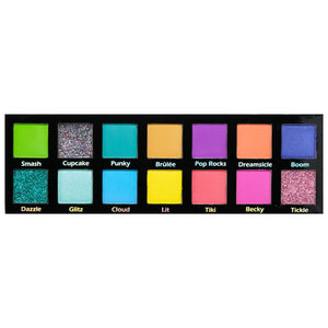 Pinkyrose Cosmetics-Bright Lights Eyeshadow Palette