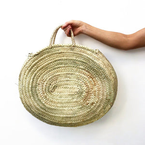 casa boho beach tote bag handbag shopping vacation travel getaway tropical island palm tree leaf woven straw handle accessories