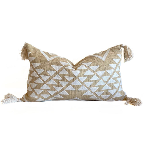 Lulu Lumbar Pillow | Sand