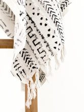 Tribal Throw - Black