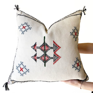 Sabra Pillow | White