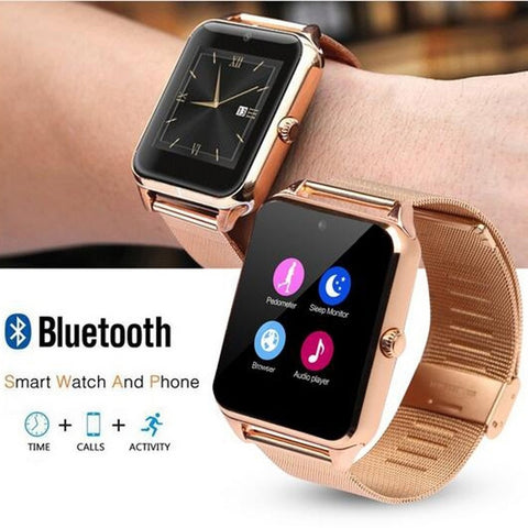 new concept 61e86 8b4b9 Z60 PLUS Smart Watch w/Remote Camera compatible with Samsung, iPhone ...