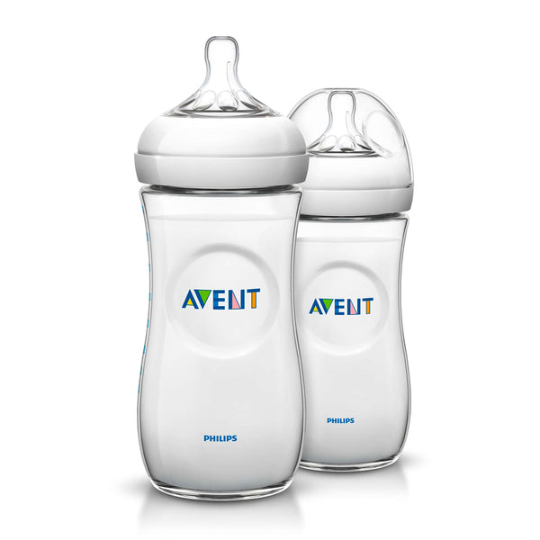 Biberón Philips Avent SCF696/27 Natural 330ml/11Oz 2 pzas