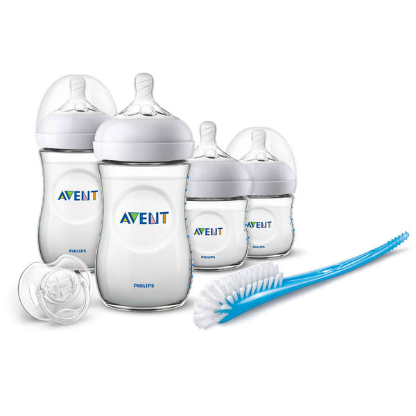 Set Biberones Avent Natural SCD301/01 Transparente Philips