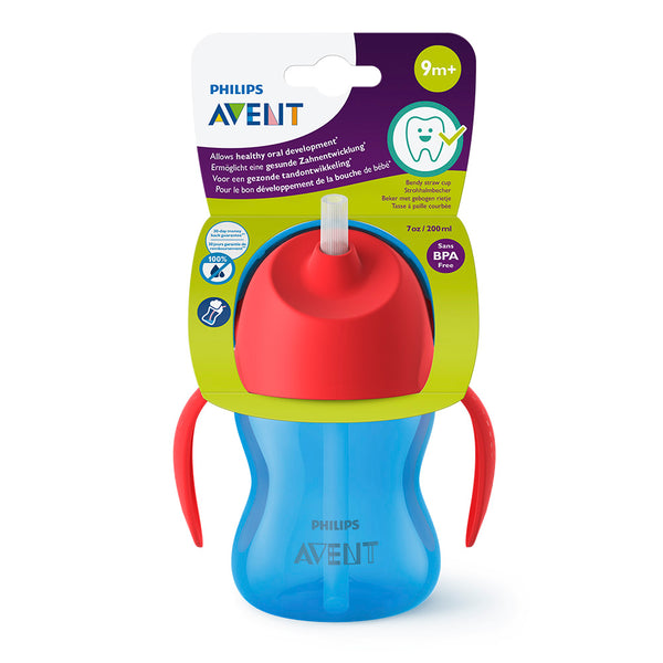 Philips Avent Vaso con bombilla flexible SCF796/01