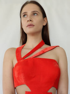 red new years eve dress