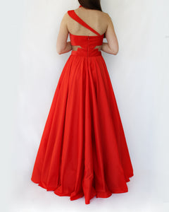 New years eve red gown