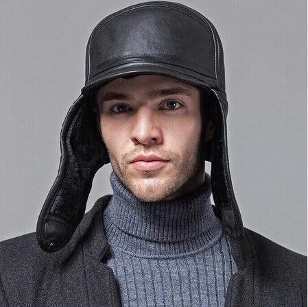 Aviator Winter Cap with Fur Lining