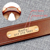Betty's Leather Collar