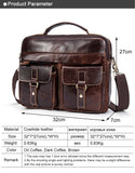 Traveller's Classic Double Hasp Briefcase