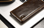Magnetic Flip Leather Wallet Case