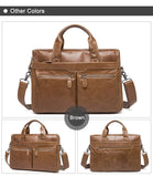 Handy Leather Briefcase