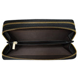 Double Zipper Clutch with Removable Strap