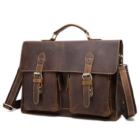 Classic Double Hasp Briefcase