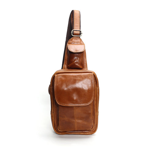 Stylish Chest Bag with Small Pocket