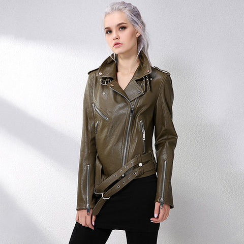 Fashionable Lamb Skin Jacket