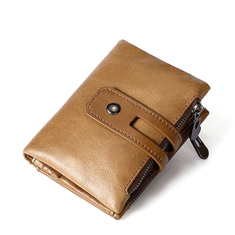 Short Wallet with SD Card Slots