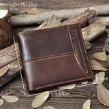 Bifold Zipper Wallet
