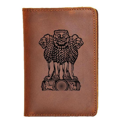 Personalized Passport Cover (Sample Engraved Design)
