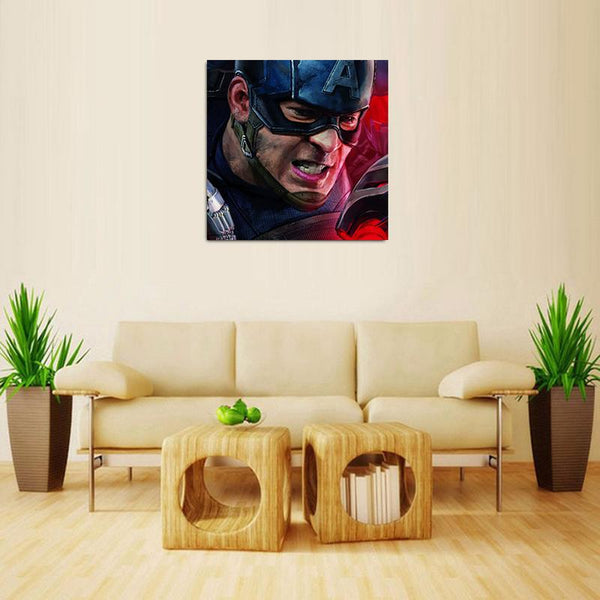 Captain America - Kenyan Art