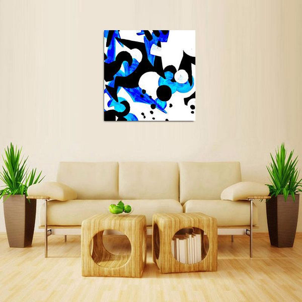 Blue- Move - Kenyan Art