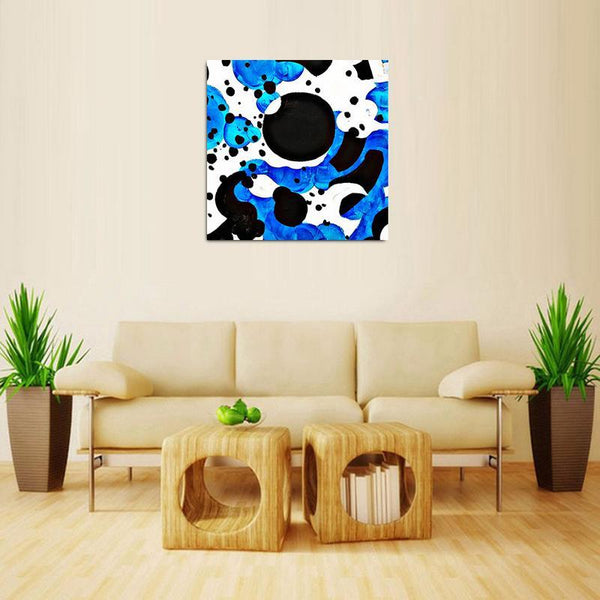 Blue- Time - Kenyan Art