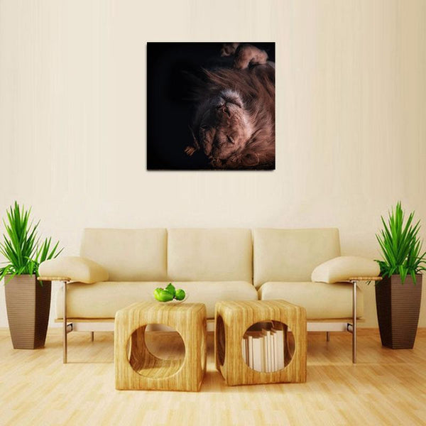 Lion Sleeping - WallArtKenya- Art Kenya