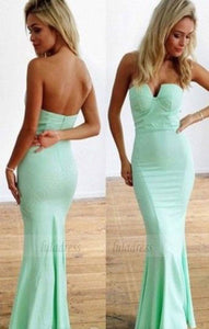Elegant Prom Dress,Satin Prom Dresses,Simple Evening Gowns