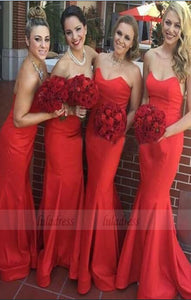 long bridesmaid dress, mermaid bridesmaid Dress, custom made bridesmaid dress,BD98888