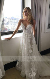 Wedding Dresses,Wedding Gown,Princess Wedding Dresses Wedding Dress with Spaghetti Straps,BD99299