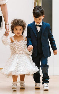 Cute Sleeveless Flower Girl Dresses,BD99880