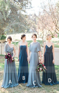 Pleated Bridesmaid Dress,Fashion Bridesmaid Dress,BD99863