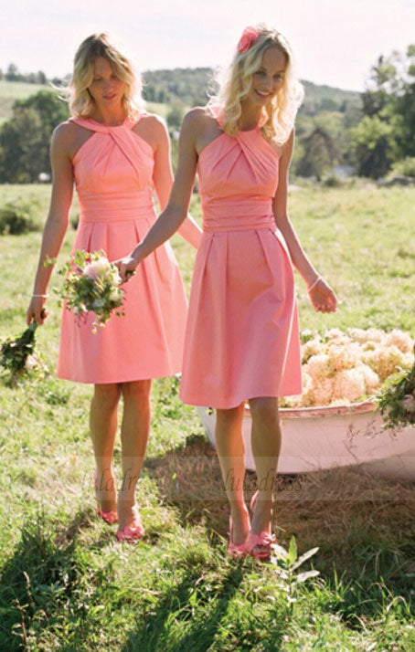 short bridesmaid dress, lovely bridesmaid dress, junior bridesmaid dress, cheap bridesmaid dress,BD98901
