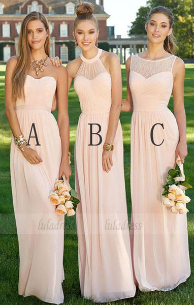 Long Bridesmaid Dress, Beautiful Bridesmaid Dresses,BD98987