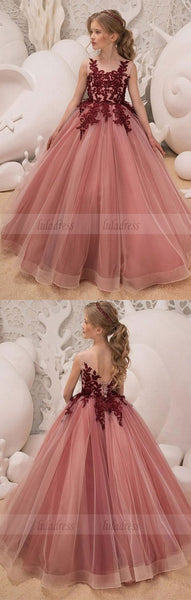 Flower Girl Dress Birthday Wedding Party Holiday Bridesmaid Flower Girl Lace Dress,BD99588