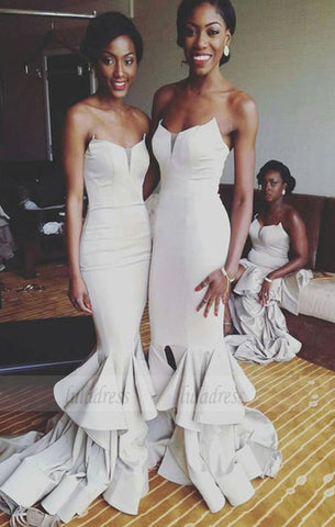Mermaid Jersey Bridesmaid Dresses,Gorgeous Bridesmaid Dresses,BD99869