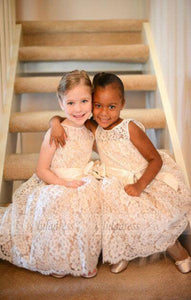 Long Flower Girl Dresses Children Birthday Dress A Line Lace Kids Wedding Party Dresses,BD99395