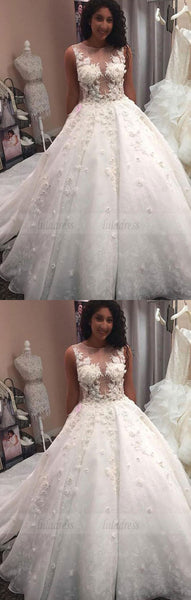 Lace Wedding Dresses Ball Gowns For Bride,BD99622