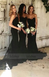 long mermaid bridesmaid dress,bridesmaid dress,bridesmaid dresses,simple bridesmaid dress, BD98307