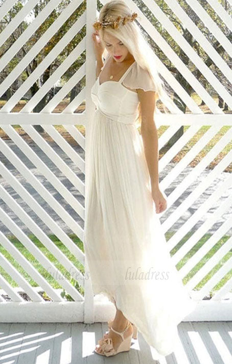Chiffon Wedding Dresses,Beach Wedding Dress,BD99806