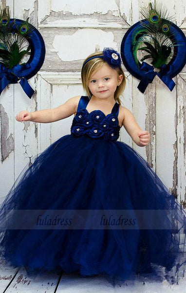 Lovely Cute Toddler Ball Gown Wedding Party Flower Girl Dresses,BD99754