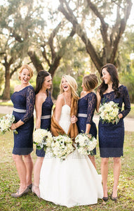 Bridesmaid Dresses,Short Bridesmaid Dresses,Lace Bridesmaid Dress,BD98912