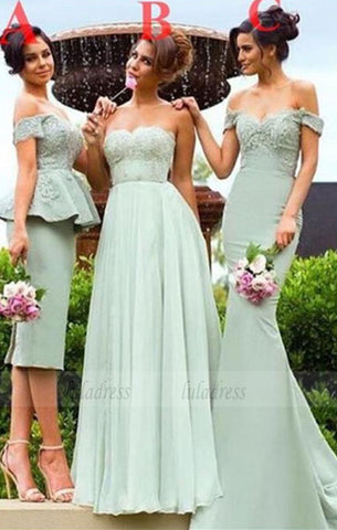 Sweetheart Bridesmaid Dress,Different Style Bridesmaids Dresses,BD98965