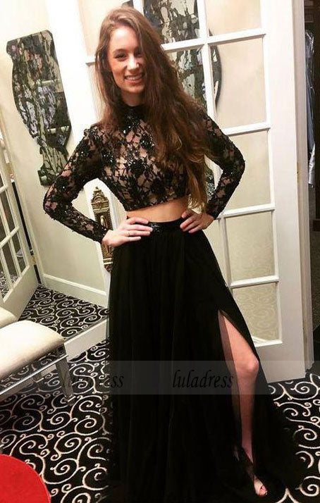 Long Sleeve Prom Dress,Long Prom Dresses,Prom Dresses,Evening Dress,BD99035